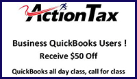 $50 Off Quickbooks Class Coupon
